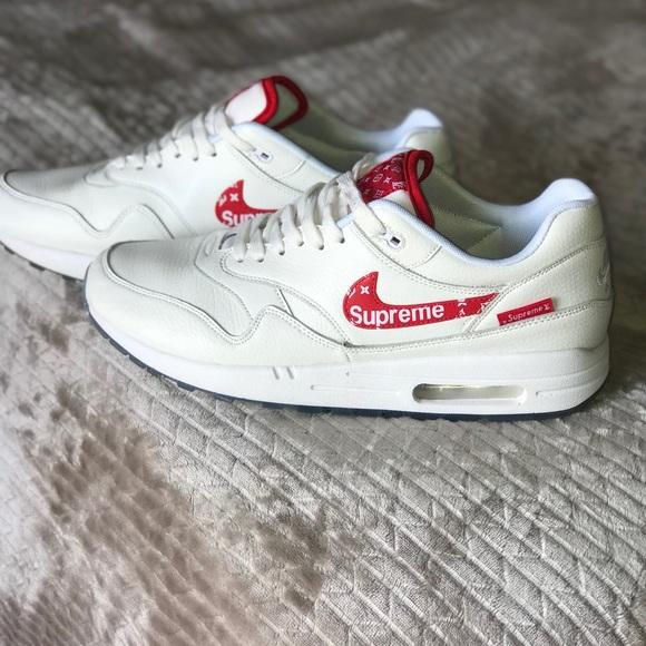 109a6622d230 Supreme Louis Vuitton Nike Shoes